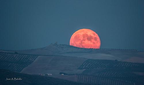 Súper Luna de Ategua a Torreparedones