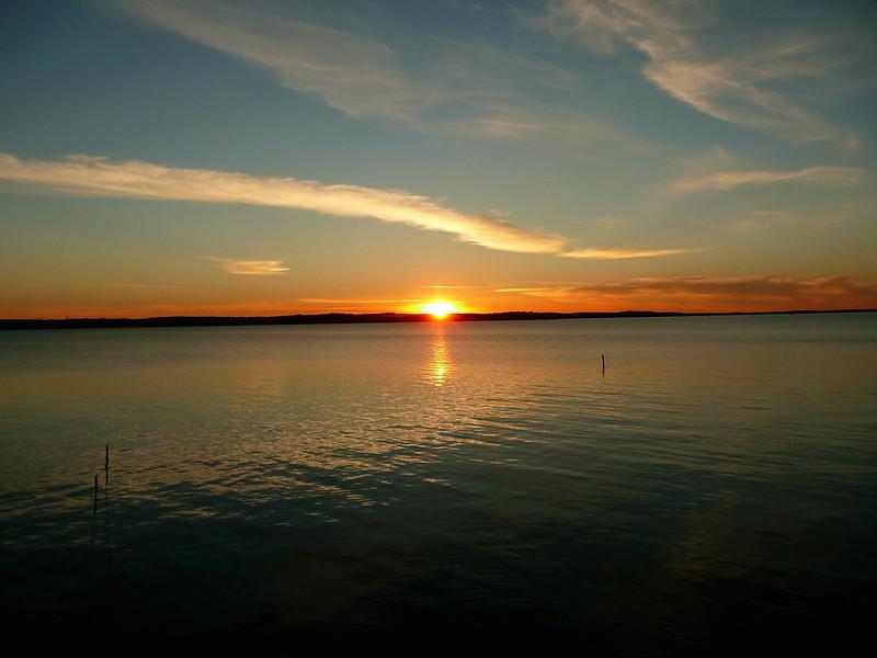 Sunset at Näsijärvi, Tampere