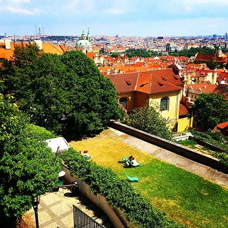 Prague in the Spring