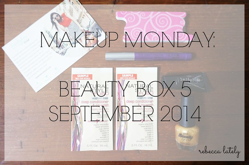 Beauty Box 5 September 2014 2