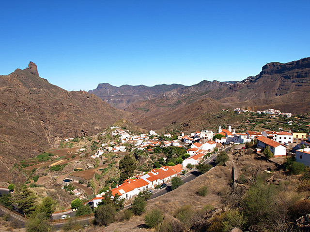 Tejeda from above, Gran Canaria