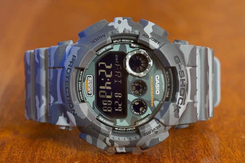 casio - Pre-dive picture : Casio G-Shock Camouflage 15073862821_195eaa8ef8_c