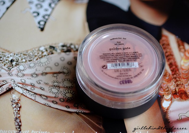 Bareminerals Blush In Golden Gate Girl Behind The Glasses