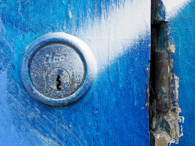 Blue Keyhole