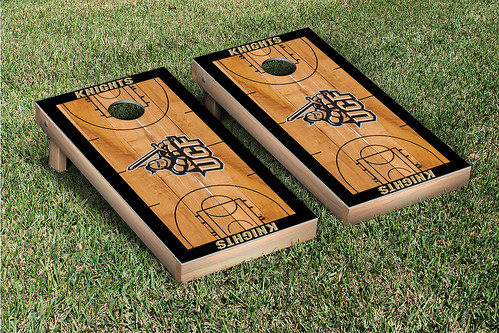 University of Central Florida UCF Knights Cornhole Game Set Basketball Version