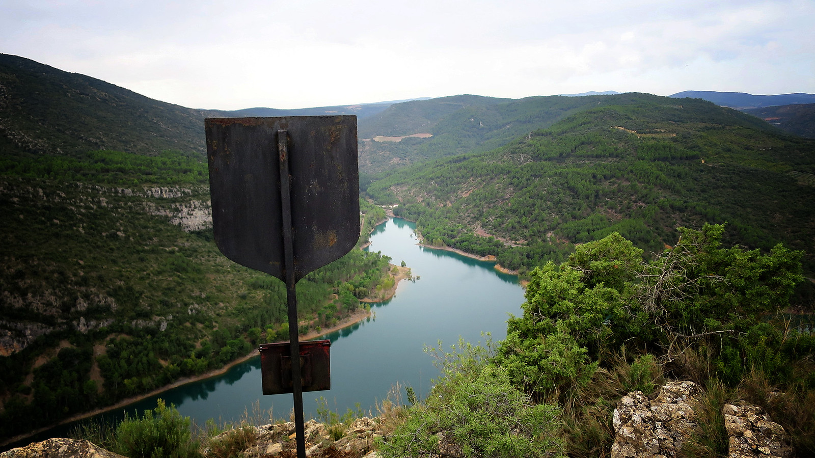 Santa Linya - la Cova Gran - lo Cinglo Roig - Castell de Santa Linya