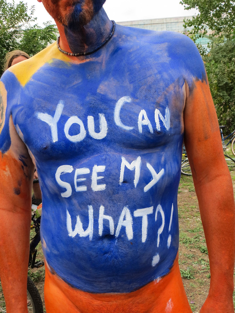 Have Nudists body paint nude congratulate, what