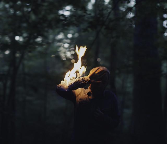 Bairon Rivera - Shield of flames