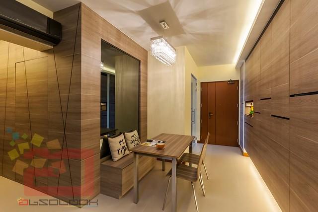 Hdb 3 room bto blk 453a fernvale flora for Hdb household shelter design