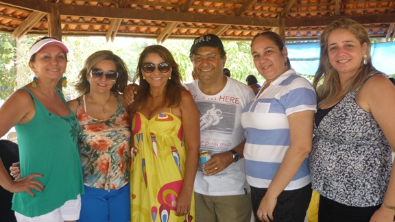 Francimary Leão, Mylene Serruya, Vera e Roberto Branco, Cicita Adade e Jalva Rebelo