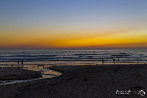 ocean california blue sunset sky orange sun beach water beautiful sunrise canon sand surf stunning 28 40mm breathtaking 6d excapture