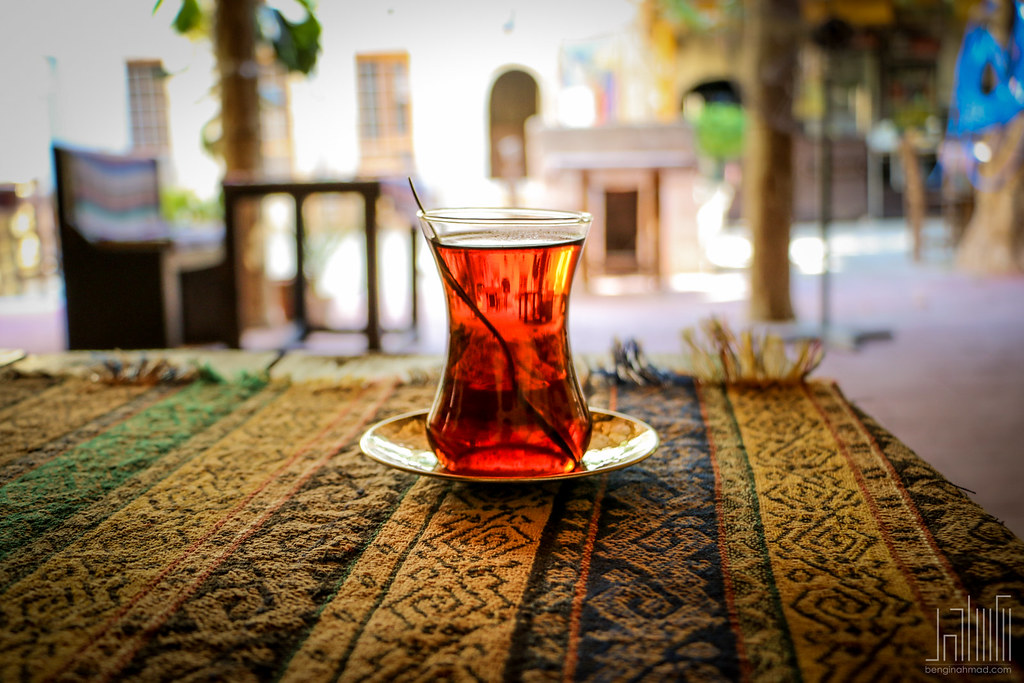 Glass of Tea in Turkey