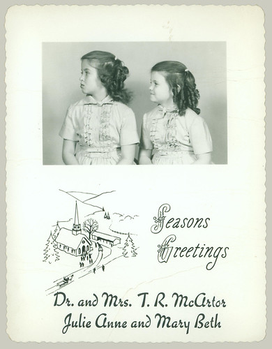 Christmas two girls