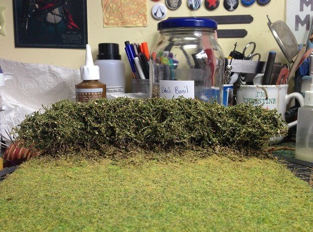 SM Scale Hedge Diorama