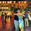 #DC #photojournalist hard at workplay: last night this year of Freedom Plaza #tango with old iPhone 4S.