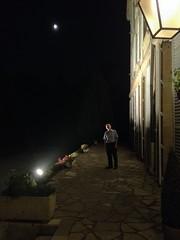 Underneath the moonlight ..