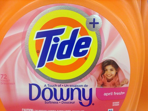 Tide Laundry Detergent with Downy. 9/2014,  by Mike Mozart of TheToyChannel and JeepersMedia on YouTube #Tide #Downy #Laundry #Detergent