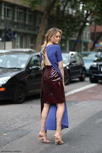 Kristina Bazan, street style, London fashion week