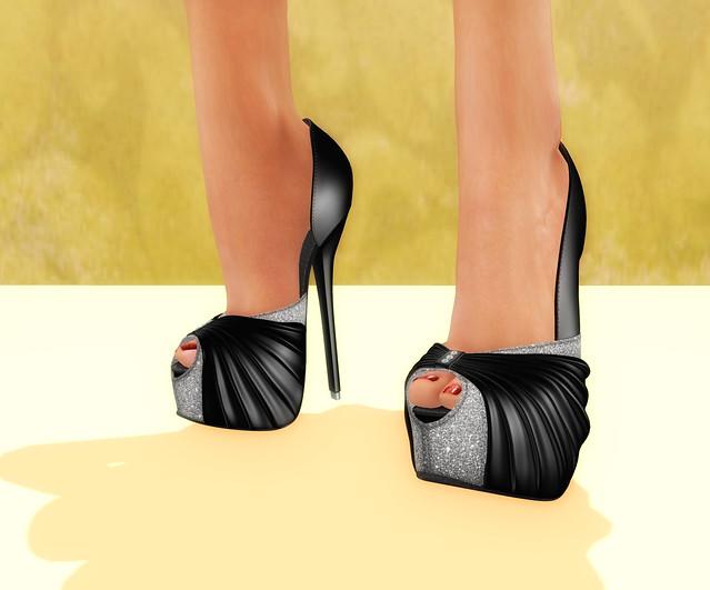 -{ZOZ}- Lani Heels Noir