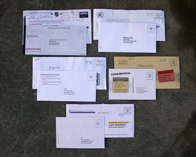 5 international scams