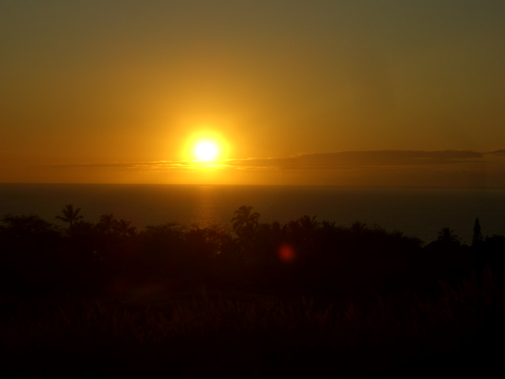 Another gorgeous sunset at the Mauna Kea