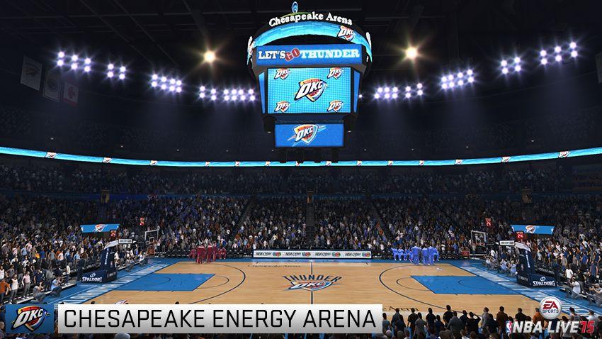 Nba Live 15 Arena Screens