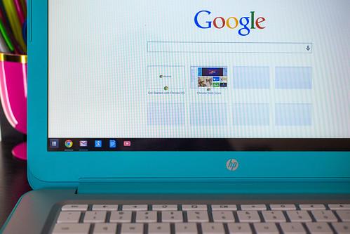 HP Chromebook 14 Google Screen
