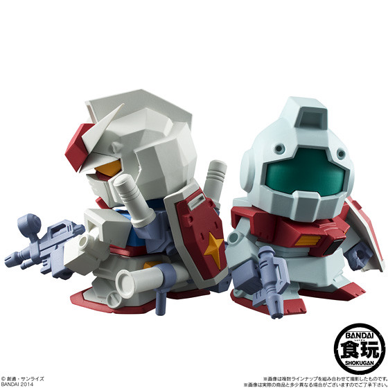 BANDAI Build Model Gundam 食玩
