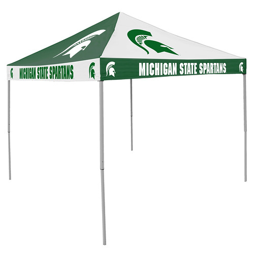 Michigan State Spartans Checkerboard Tailgating Tent