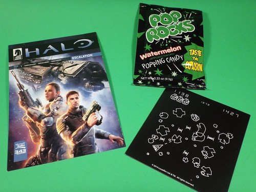 Loot Crate - Halo, Star Wars magnet