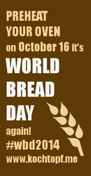 World Bread Day – WBD 2014