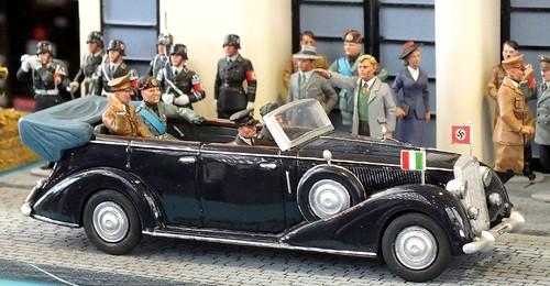 Diorama visita Hitler