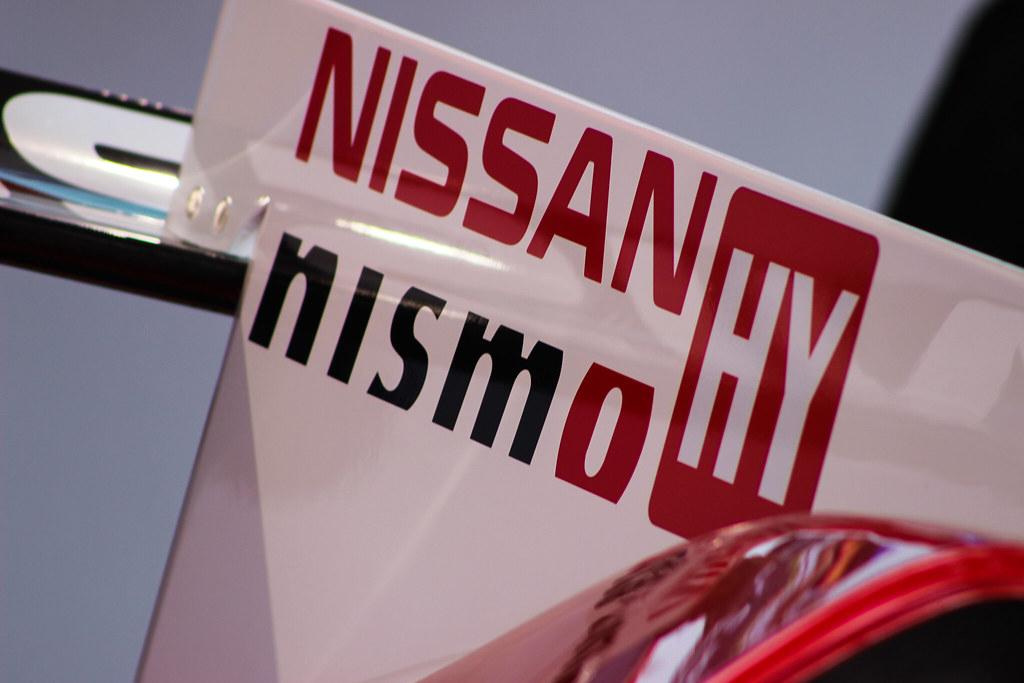 Nissan GTR-LM NISMO rear fin