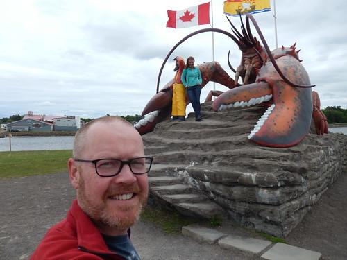 Shediac - biggest fake lobster in the world