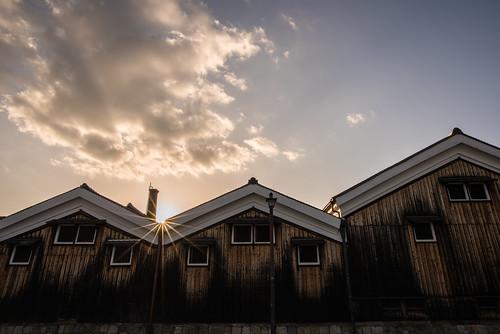 japan kyoto 伏見 建築物 architecture 夕景 sunset 京都市 京都府