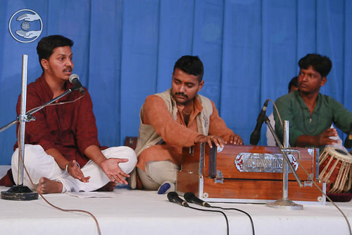 Devotional song by Sharad Samundi from Kharagpur, West Bengal