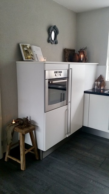 Keuken landelijk strak