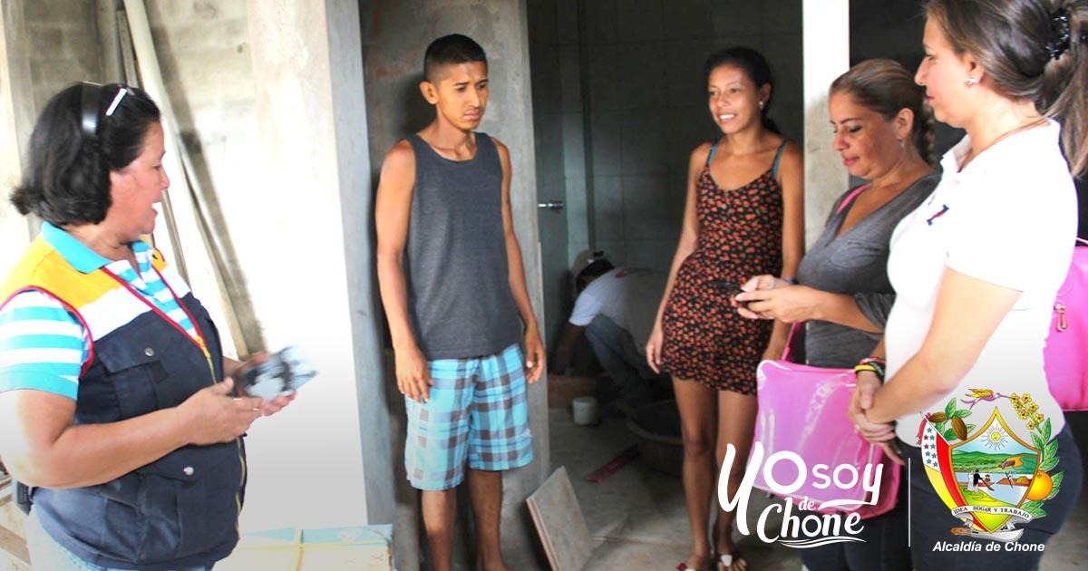 Municipalidad y Fundación Hermanas Espinolas entregarán vivienda a persona con discapacidad en Puerto Arturo