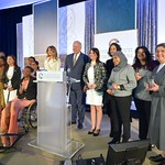 First Lady Melania Trump and Under Secretary of State for Political Affairs Thomas A. Shannon present the 2017 Secretary of State's International Women of Courage Award to a group of extraordinary women from around the world on March 29, 2017.
