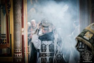 Литургия в Иверском монастыре 240
