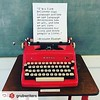 "...had to *steal* this, as it's one of my personal mantras.!!! ;)  #Rensta #Repost: @grubwriters via @renstapp  ··· "" It's all a chain reaction :link: . . . . . #typewriter #grubstreet #boston #literary #literature #reading #writing #writers #grubwriters"