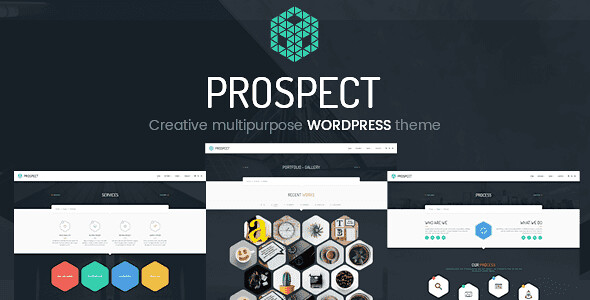 Prospect WordPress Theme free download