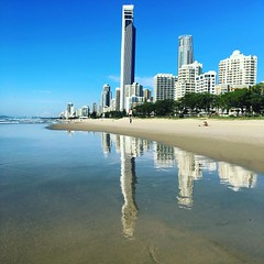 So nice #beachlife #beachwalk #goldcoast #bluesky #warm #niceone