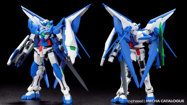 HGBF Gundam Amazing Exia - Colored Prototype Shots