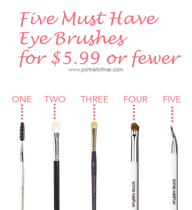Five Must have eye brushes