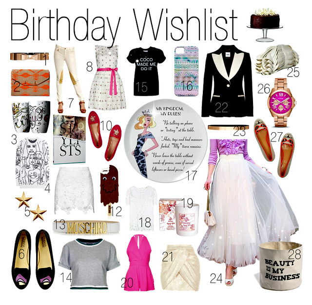 My Birthday Wishlist I Style By Charlotte