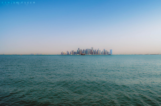 Doha Skyline from another angle