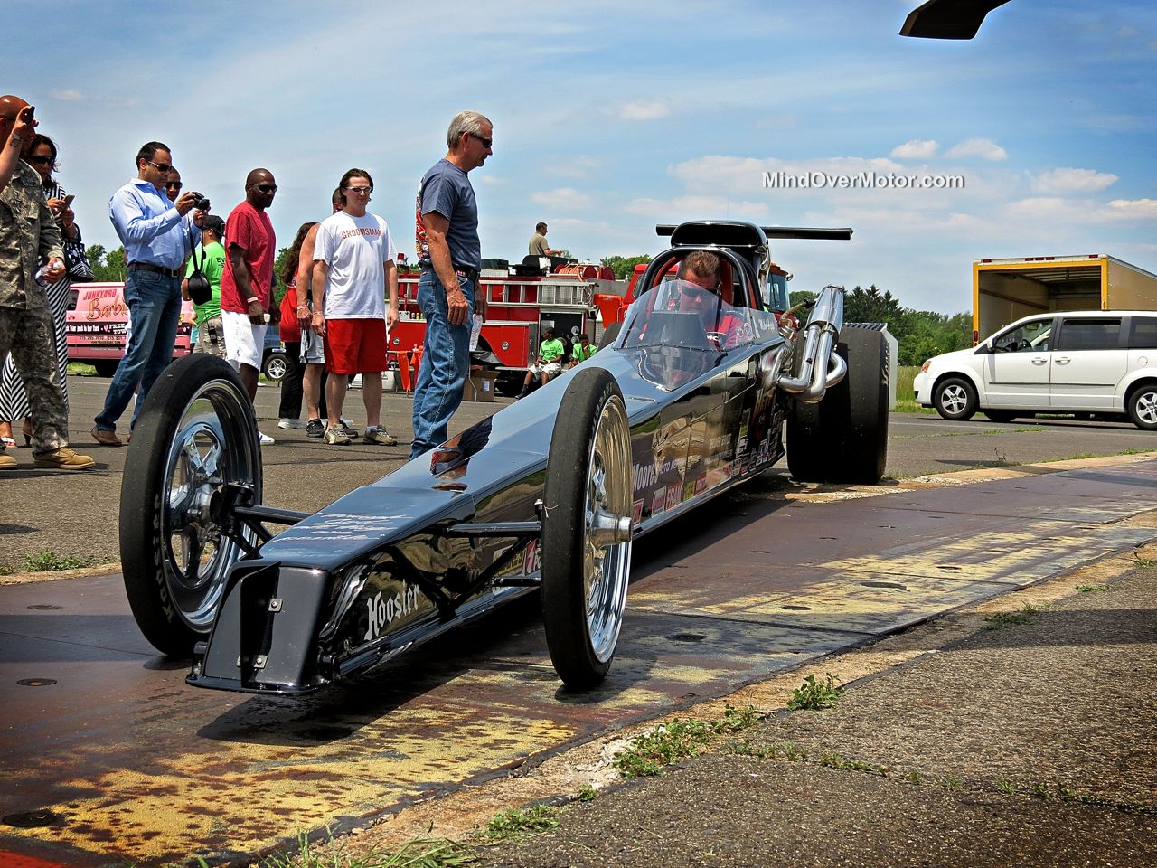 Dragster at CF Charities
