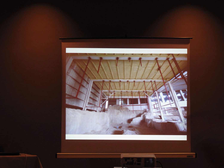 cómo se hizo: explicacion restos sinagoga lorca murcia, restauración