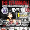 Monster Vape Lounge Flyer 2